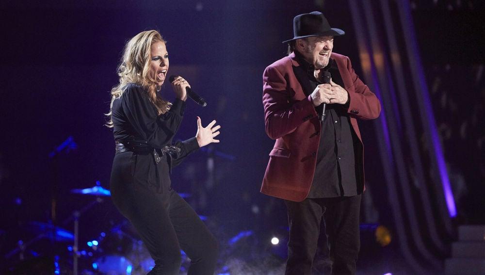 Pastora Soler y Fernando Demon cantan 'You are so beautiful' en la Gran Final de 'La Voz Senior'