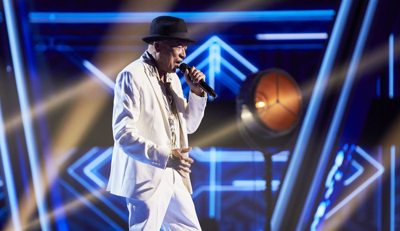Nico Fioole canta 'You make me feel so young' en la Gran Final de 'La Voz Senior'