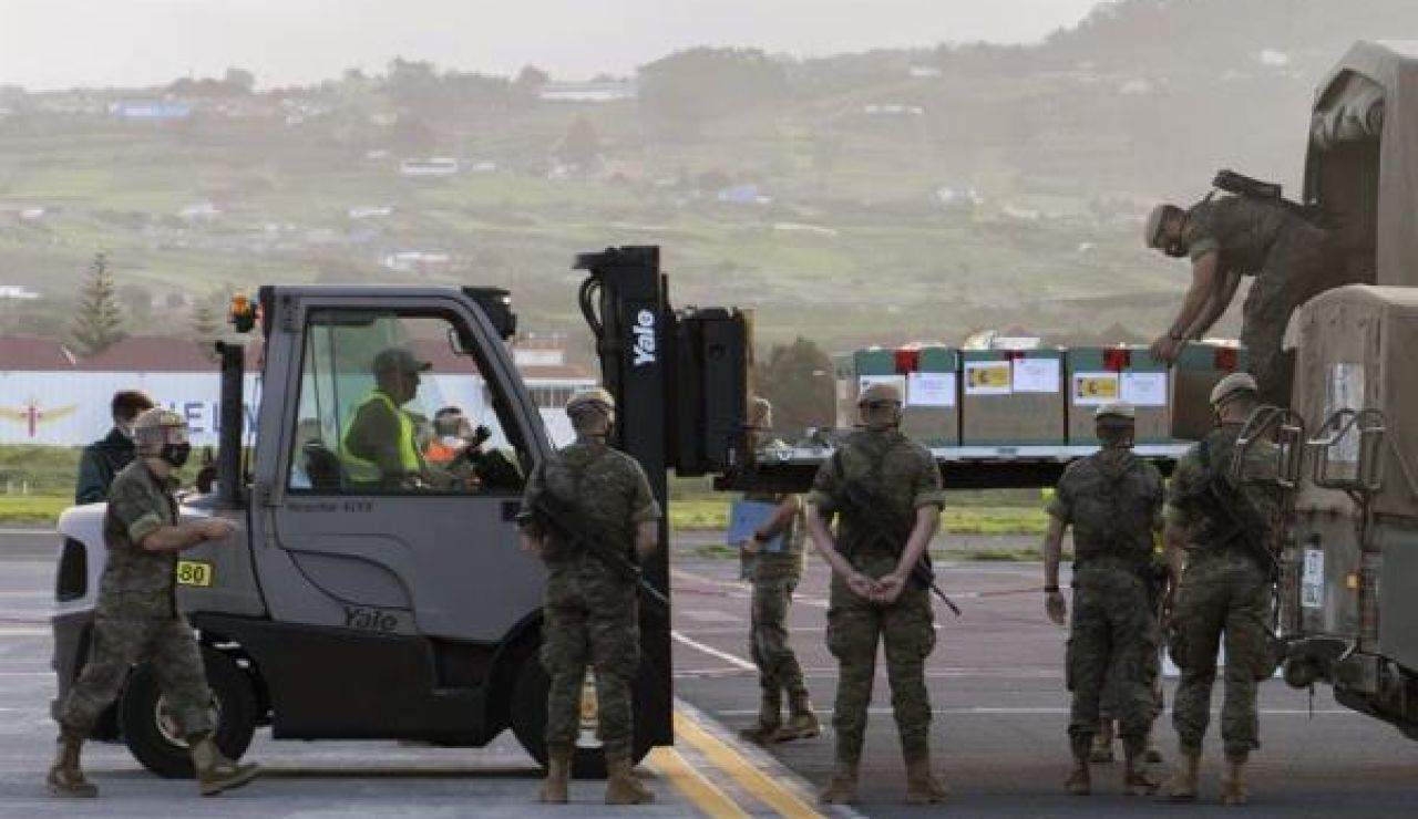 Militares en Tenerife