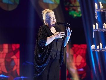 Naida Abanovich canta 'Ebben N'Andro Lontana' en la Gran Final de 'La Voz Senior'