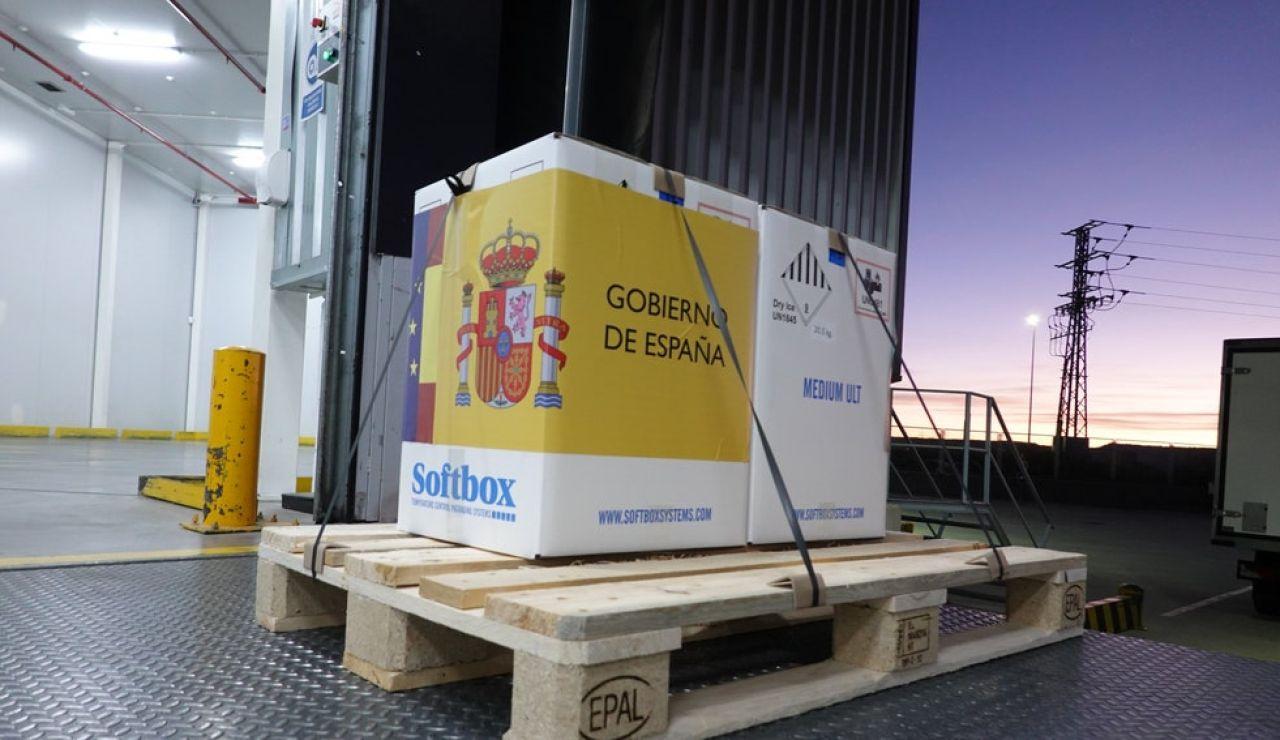Las primeras vacunas llegan a España