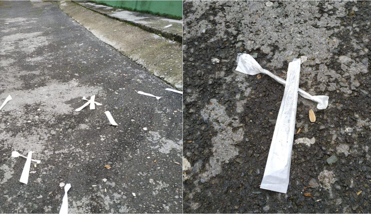 Los test destrozados del centro médico de Sodupe