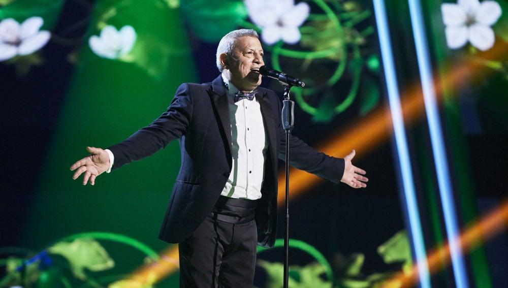 Fernando Liben canta 'Dos gardenias' en la Gran Final de 'La Voz Senior'