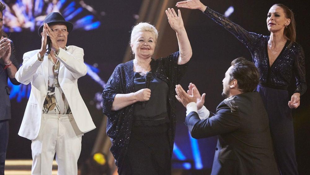 Naida Abanovich se convierte en la ganadora de 'La Voz Senior' en el 'Equipo Bustamante'