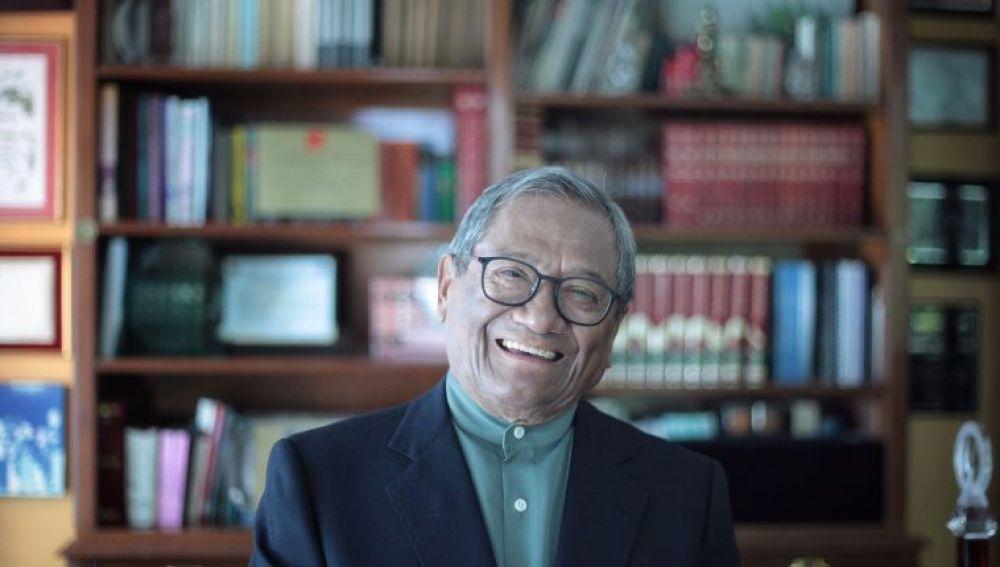El cantautor mexicano Armando Manzanero