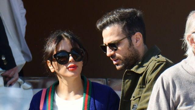 Cesc Fábregas y su mujer, Daniella Semaan