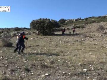 Un amplio dispositivo de búsqueda trata de localizar a un cazador que lleva casi un día desaparecido en Catí (Castellón)