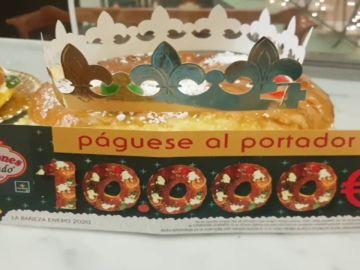 10.000 euros en el interior de un roscón en la confitería de La Bañeza, León
