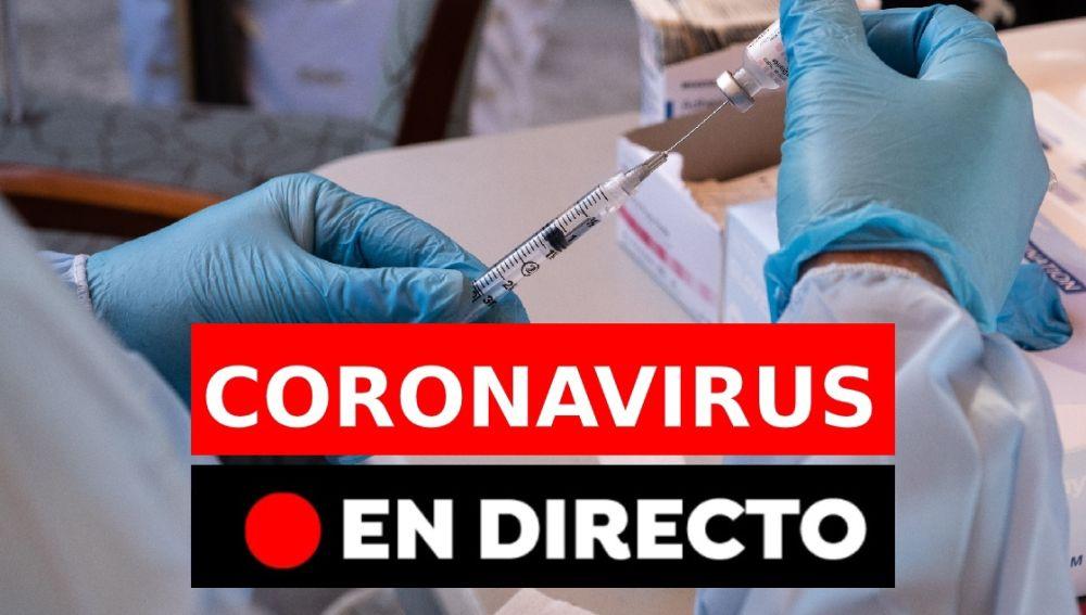 Coronavirus España: Última hora de la vacuna de Pfizer en directo