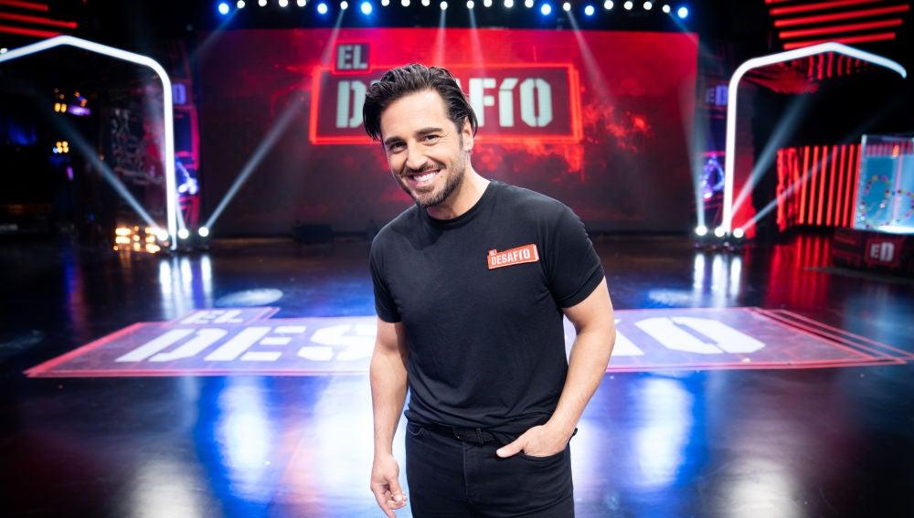 David Bustamante, concursante de 'El Desafío'