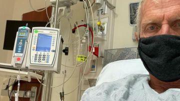 Greg Norman, en un hospital de Florida