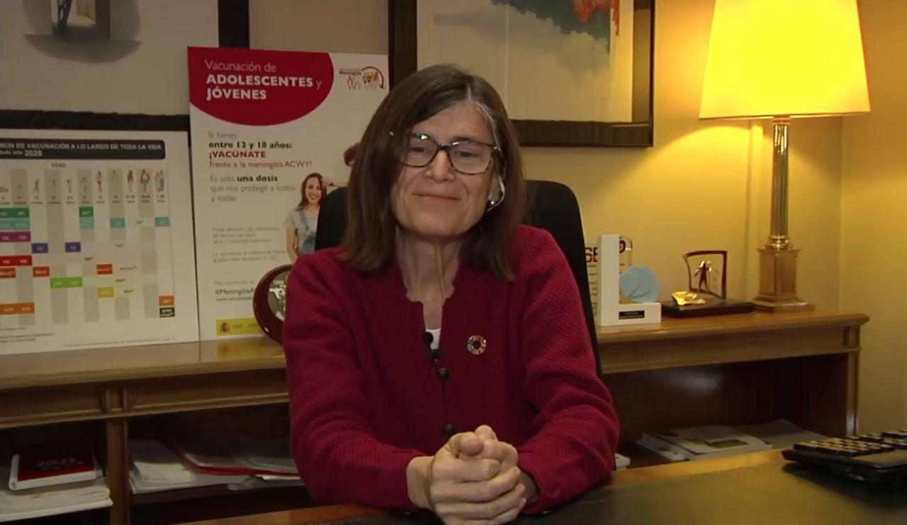 Pilar Aparicio, directora general de Salud Pública
