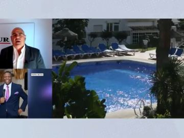 ahogados tres miembros de una familia en una piscina en Mijas