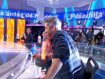 Unax Ugalde despierta de una 'Pesadilla antes de Navidad' en 'La Pista'