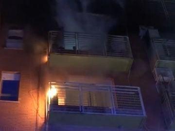 Cinco personas heridas en un incendio en Paiporta, Valencia