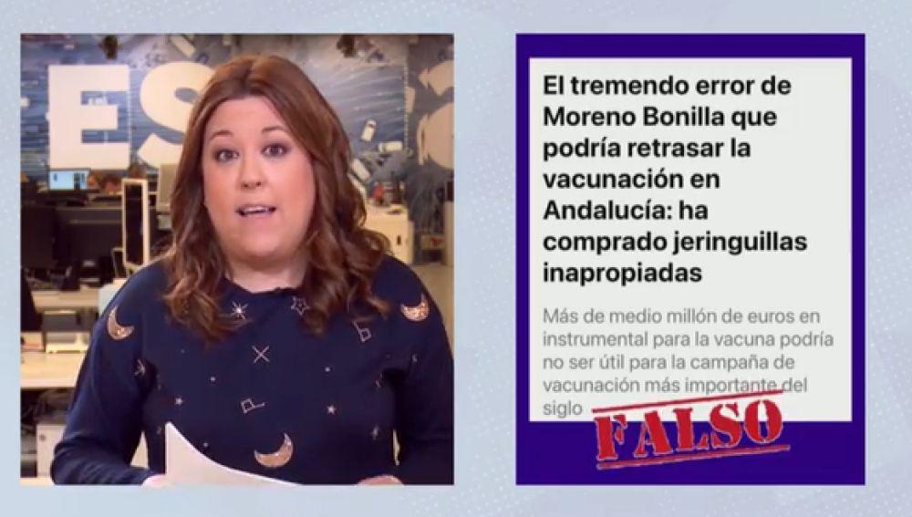 Verifica A3N jeringuillas Junta Andalucía
