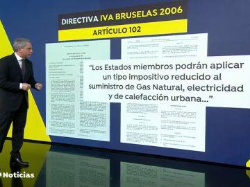 Vicente Vallés demuestra que el Gobierno puede bajar el IVA a la luz