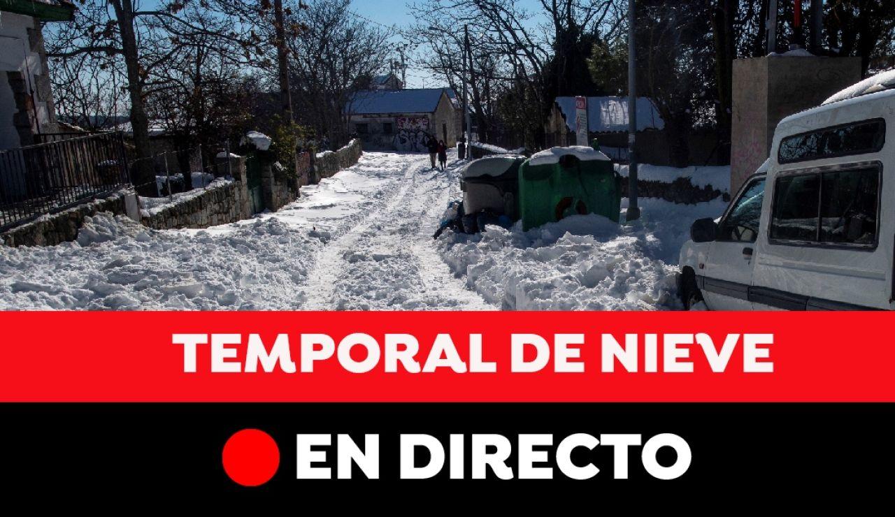 Temporal Filomena hoy en España: última hora en directo