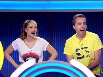 El sábado, prepárate para reír en un nuevo programa de 'El juego de los anillos'