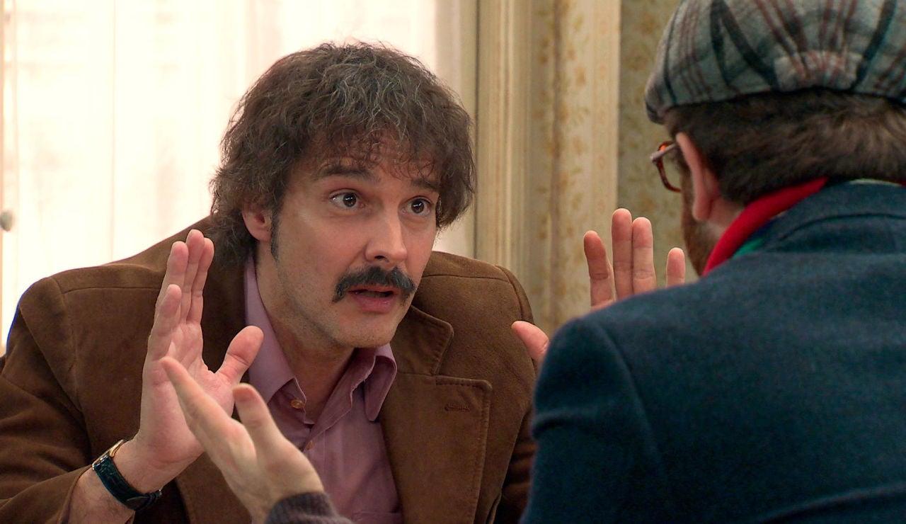 """Galán, al director: """"No voy a vender el alma de mis compañeros al diablo"""""""