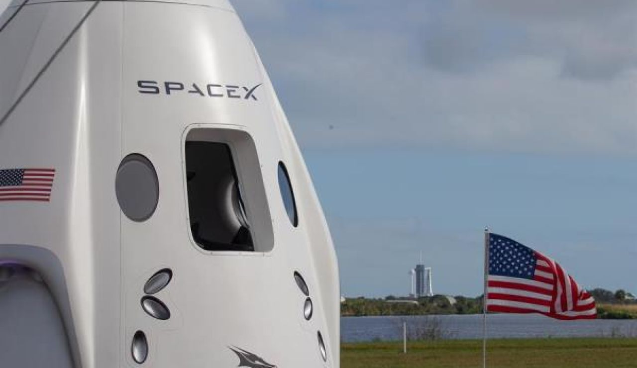 La cápsula Dragon de Space X