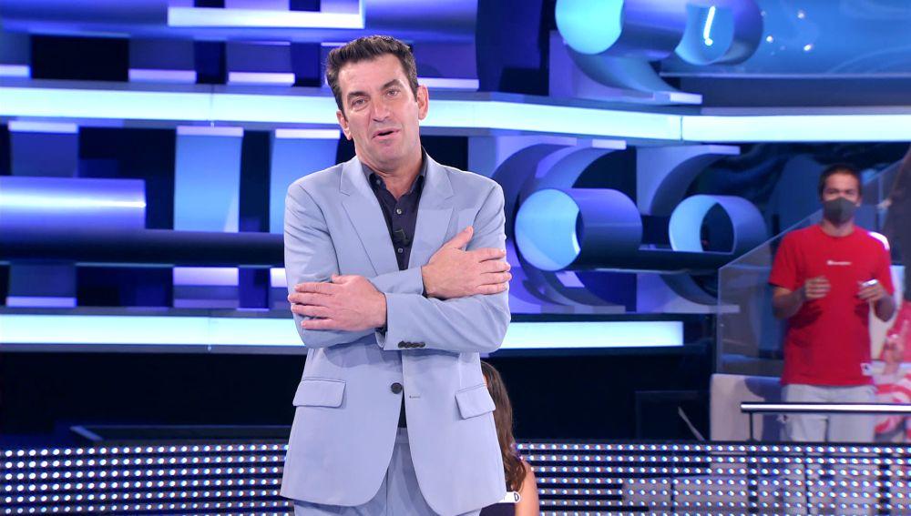 """""""Desde 'Furor' no se veía algo igual"""": Arturo Valls alucina y se emociona con el público de '¡Ahora caigo!'"""