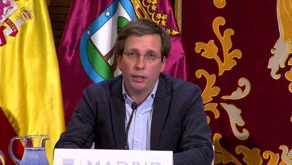 """José Luis Martínez-Almeida solicita la declaración de Madrid como zona catastrófica: """"Hay pérdidas por valor de 1389 millones"""""""