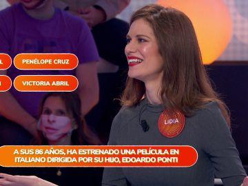 """Lidia San José justifica sus nervios en 'Pasapalabra': """"Soy muy competitiva"""""""