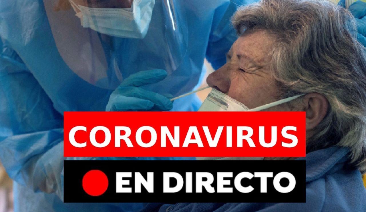 Coronavirus España: Última hora de las restricciones y los contagios, en directo