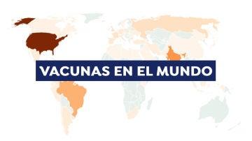 Mapa: Los países que más vacunas del coronavirus han suministrando