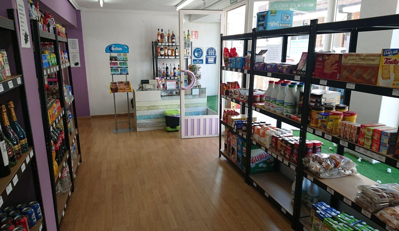 Fotografía de la tienda.