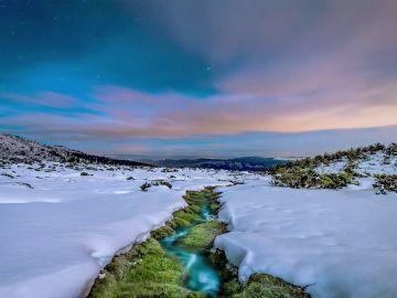 Fascinantes imágenes de la sierra de Guadarrama cubierta de blanco por el temporal Filomena