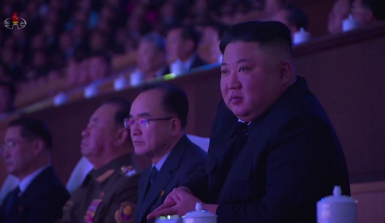 Líder de Corea del Norte, Kim Jong-un.