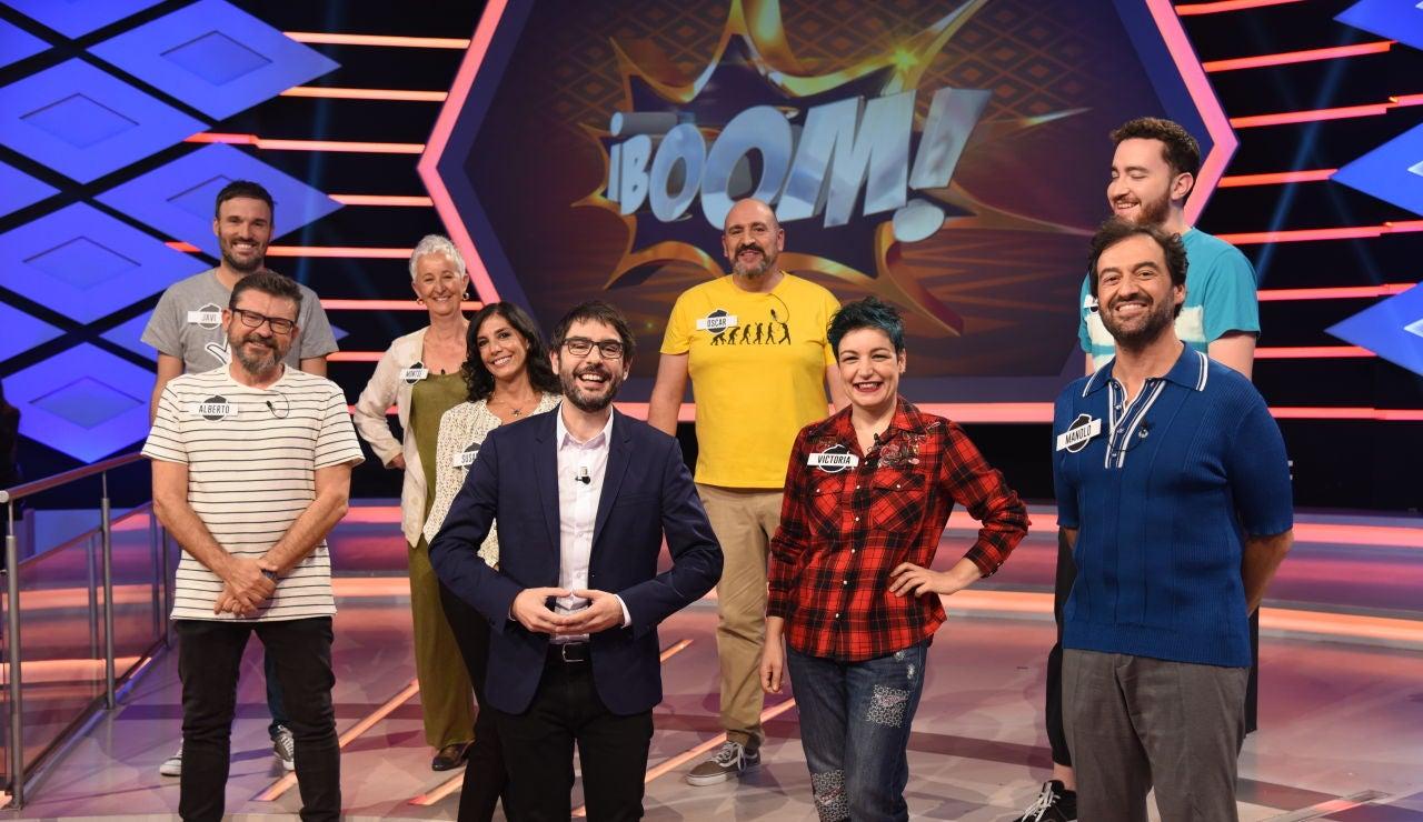 """Juanra Bonet presenta a 'Los dispersos' y a 'Los caligaris' en 'La liga de los millonarios': """"Es la Champions de '¡Boom!'"""""""