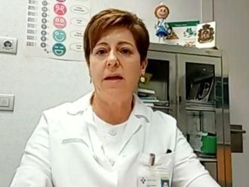 Marian Busto, sanitaria asturiana