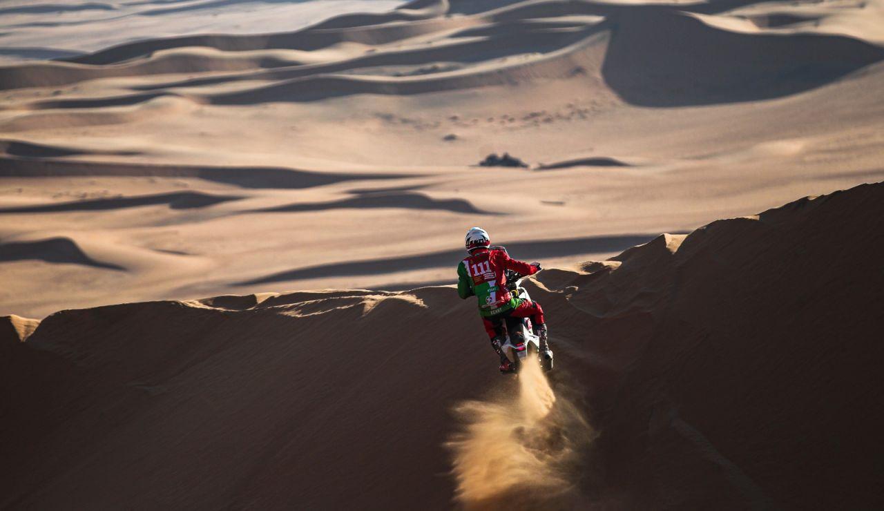 Pierre Cherpin en el Rally Dakar