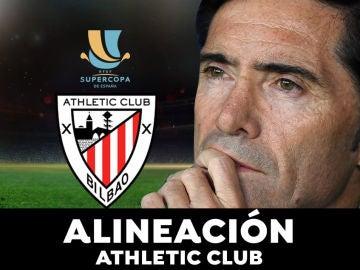 Alineación del Athletic Club para el partido de hoy de Supercopa de España