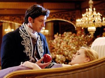 Patrick Dempsey y Amy Adams en 'Encantada'