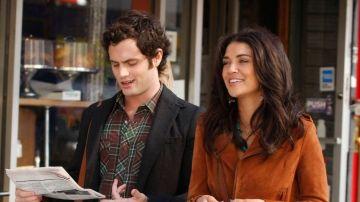 Penn Badgley y Jessica Szohr en 'Gossip Girl'
