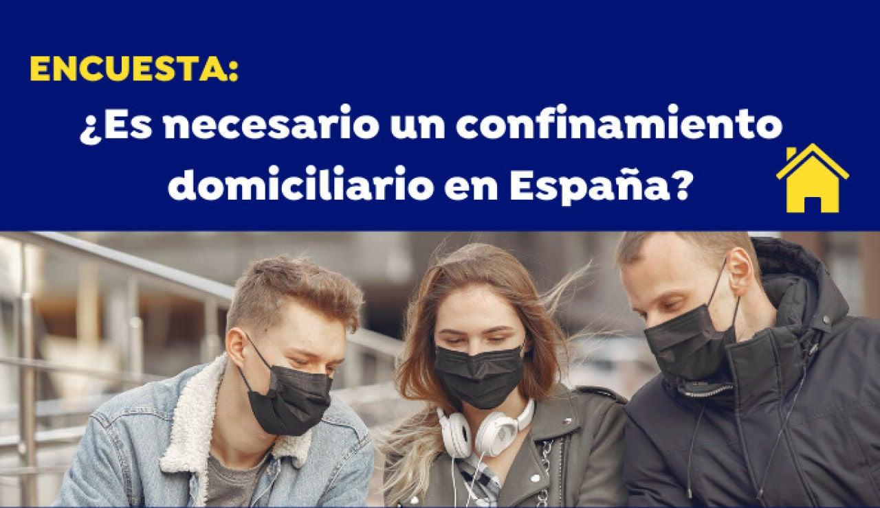 Encuesta: ¿Crees que es necesario un confinamiento domiciliario en España por el coronavirus?