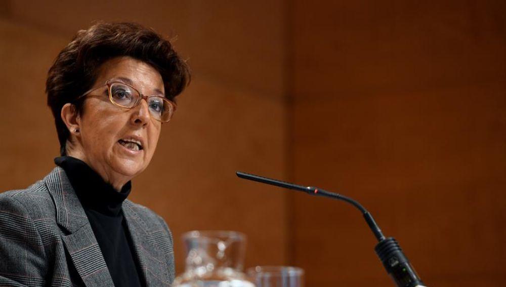La directora general de Salud Pública de Madrid, Elena Andradas