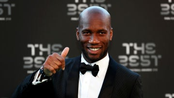 Didier Drogba, en la gala 'The Best'