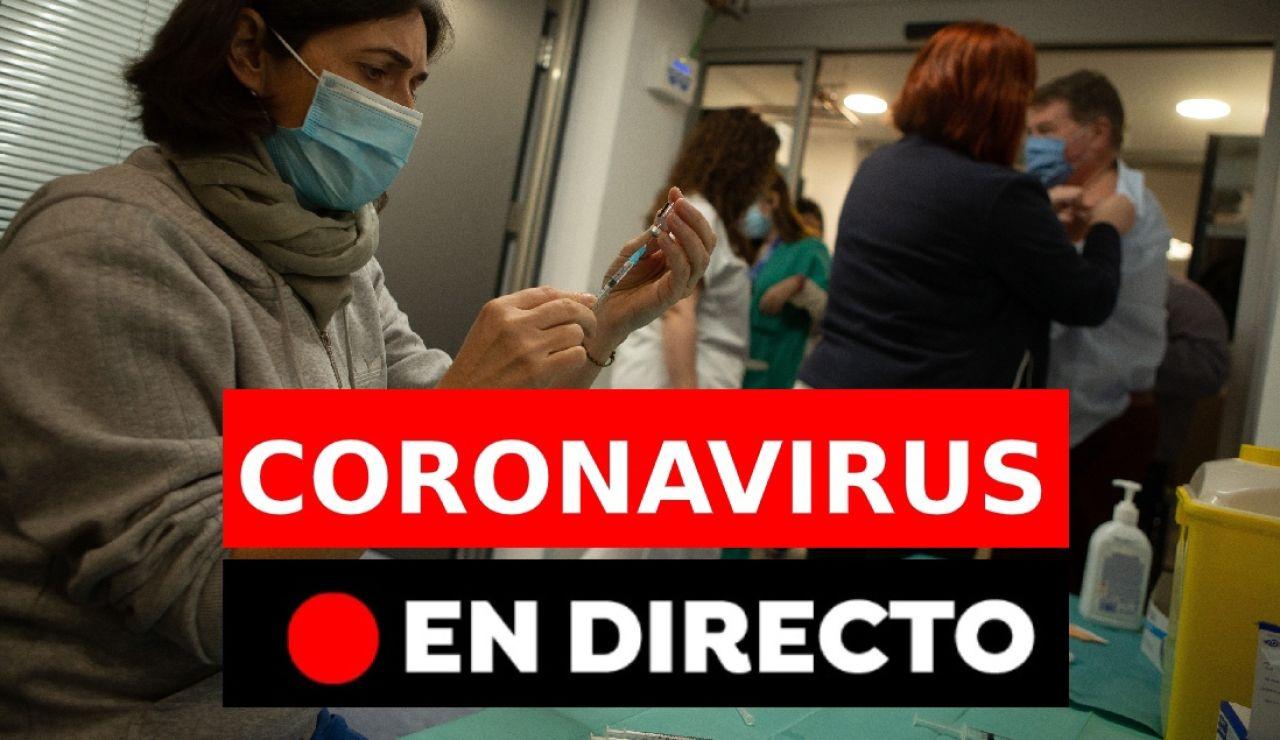 Coronavirus España hoy: última hora de las vacunas y restricciones, en directo