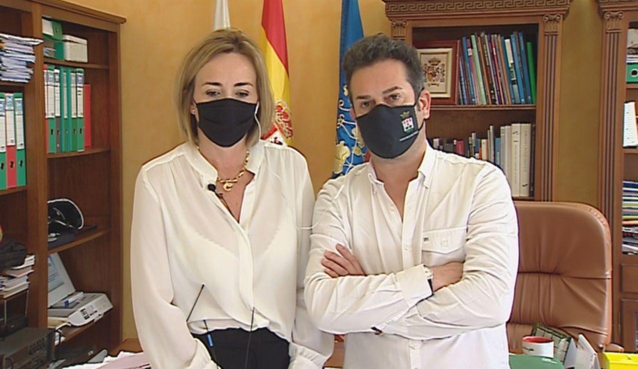 Polémica alcaldes vacunados.