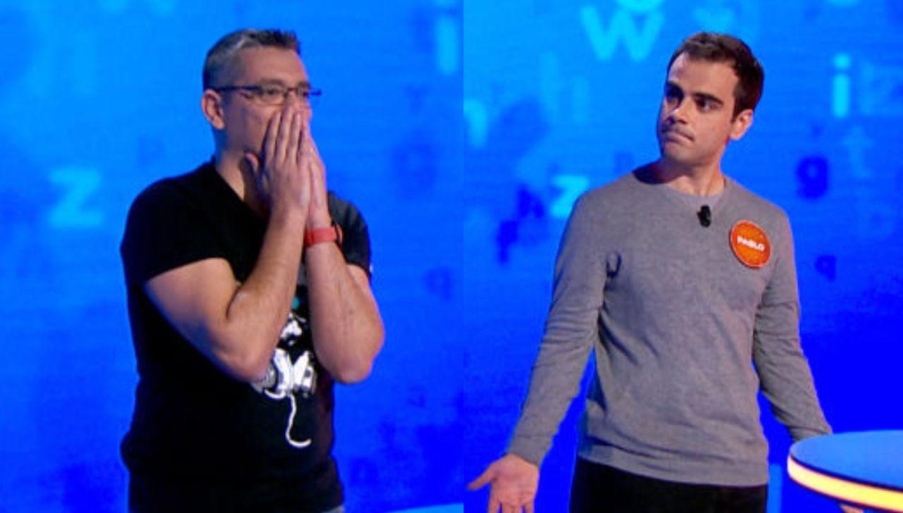 Los 'roscos' más tensos entre los Luis y Pablo en 'Pasapalabra'