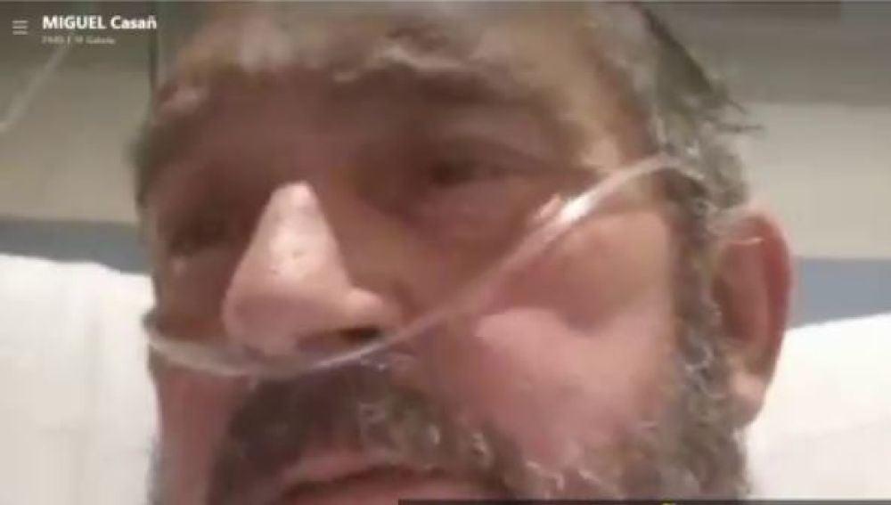 Impactante relato del doctor Miguel Casañ, en la UCI tras contagiarse él y toda su familia