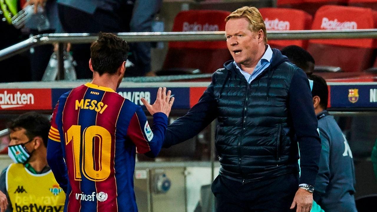 Barcelona: Toque de Ronald Koeman a los 'pesos pesados' antes de medirse al Sevilla en la Liga Santander