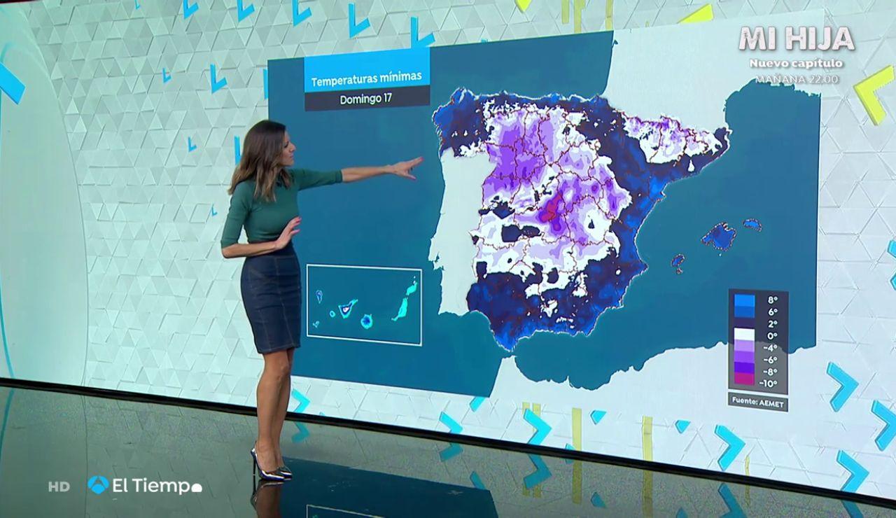 El frío intenso mantiene 21 provincias en alerta