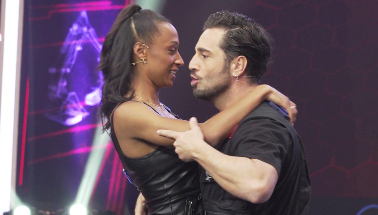 El pegado baile de David Bustamante y Ana Peleteiro tras las cámaras de 'El Desafío'