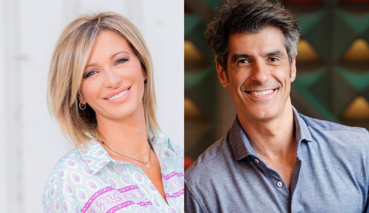 Susanna Griso y Jorge Fernández